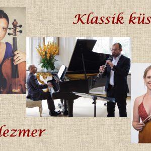 """Das Kammerkonzert: """"Klassik küsst Klezmer"""""""